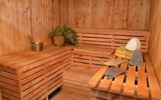Как утеплять баню изнутри