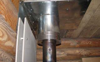 Чем обернуть трубу дымохода от возгорания