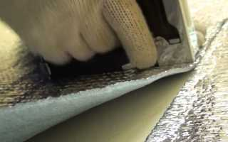 Чем приклеить изолон к бетону