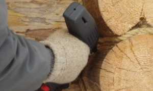 Утепление парилки бани из сруба