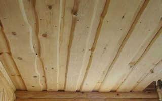 Потолок из досок своими руками