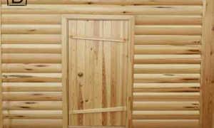 Дверь из шпунтованной доски своими руками