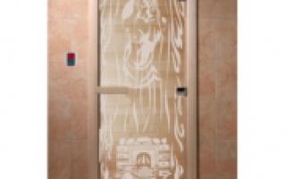 Двери для парилки