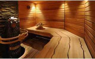 Перегородки в бане