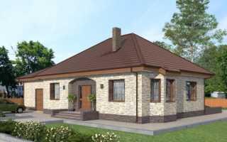 Практичный проект дома с гаражом
