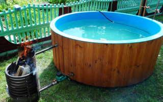 Подогрев воды в бассейне своими руками