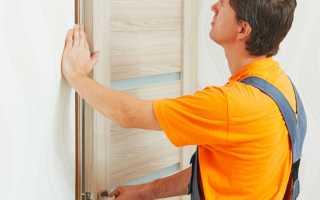 Как устанавливать дверную коробку
