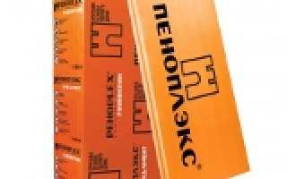 Пеноплекс фундамент технические характеристики