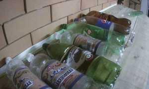 Водостоки из пластиковых бутылок своими руками