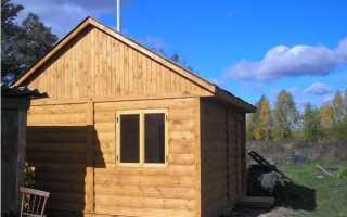 Баня с полатями – оптимальное использование маленького участка