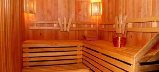 Как обшить баню изнутри