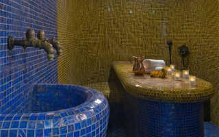 Хамам в квартире в ванной