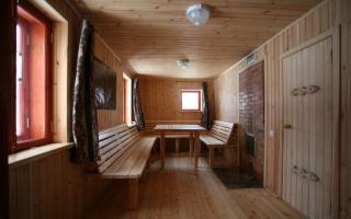 Проект бани на дровах